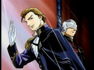 Treize: HELLO I AM CHARISMATIC! Zechs: Hn.