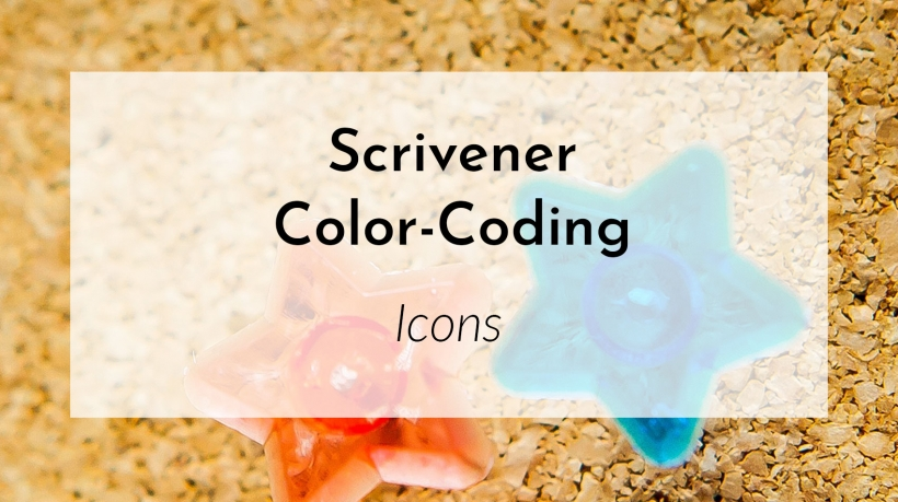 Banner: Scrivener Color-Coding Icons