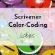 Banner: Scrivener Color-Coding Labels