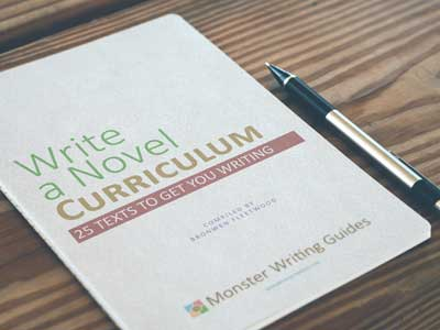 Write a Novel Curriculum print mockup