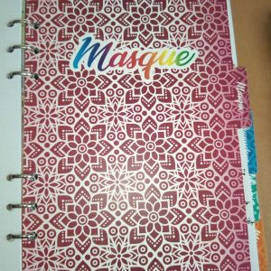 Binder planner project tab