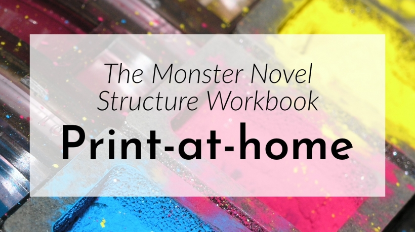 Banner: Print the Monster Workbook at home!