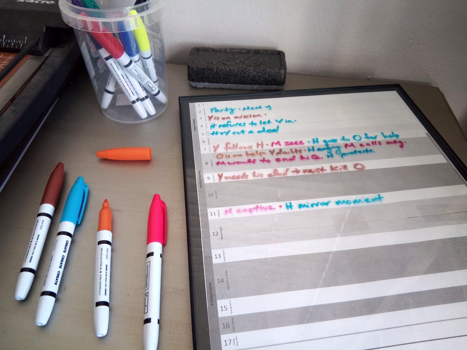 Framed Worksheet in action!